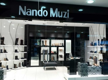 Nando Muzi has recently opened its seventh boutique in Ekaterinburg